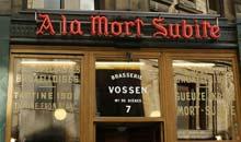 A La Mort Subite traditional Belgian bar