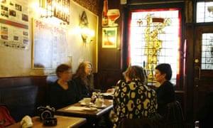A traditional Belgian bar