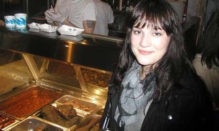 New York food blogger Amanda Kludt of Eater