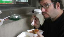 New York food blogger Josh Ozersky of Grub Street