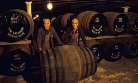 Whiskey in Skye, Scotland