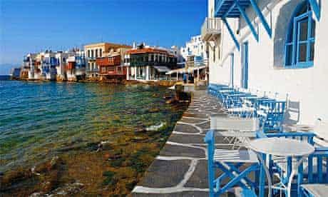 Mykonos in the Cyclades Islands, Greece