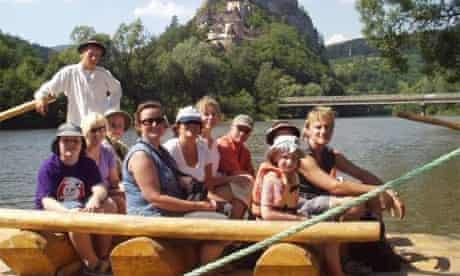 Family adventure holiday in Slovakia