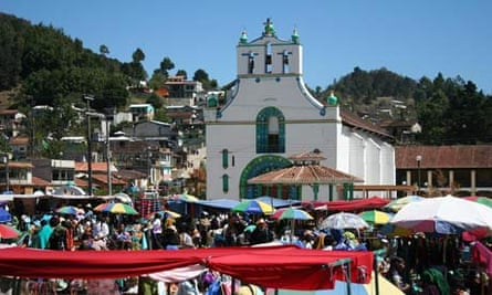 Chamula market, Chiapas, Mexico
