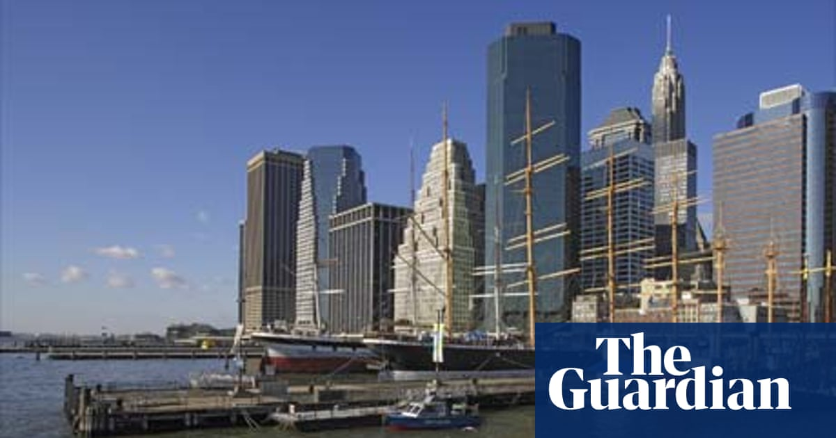 Walk of the town in Manhattan   Travel   The Guardian