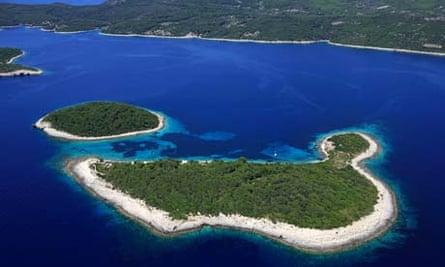 Croatia, Dalmatian coast, Mljet island National Park