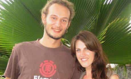 Vicky Baker and Michel, French Guiana
