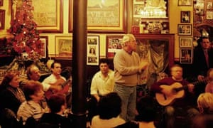 Flamenco music in Seville, Spain