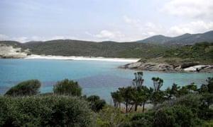 Ghignu beach, Desert des Agriates, Corsica