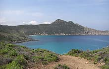 The coastal path, Desert des Agriates, Corsica