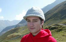 Jonathan Trigell in the alps