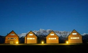 Nebesa designer cabins, Slovenia