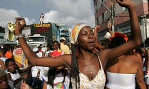 Dancing on the streets of Salvador