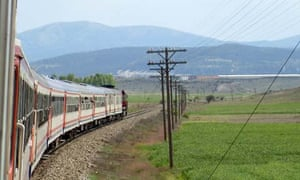 Train from Istanbul to Aleppo in Syria