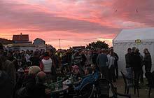 Træna Festival Norway: sunset