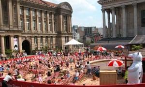 Birmingham City beach
