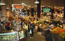 Grand Central Market, Los Angeles, US