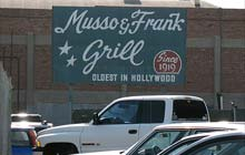 Musso and Frank's grill, Los Angeles, US