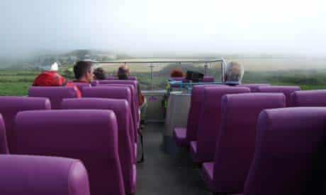 Dixe Wills' bus tour: Zennor, Cornwall