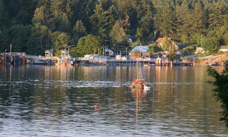 Fulford harbour, Saltspring Island, Canada