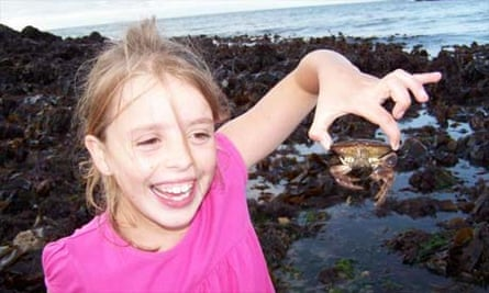 Crabbing in Cemaes Bay, Anglesey