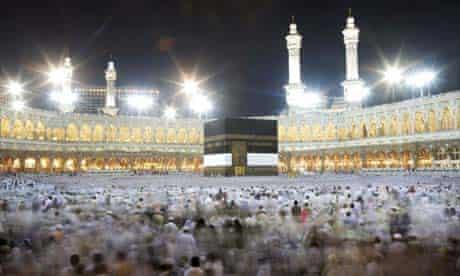 Hajj Pilgrimage to Mecca, Saudi Arabia