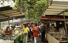 Paris market: Marché Biologique Raspail