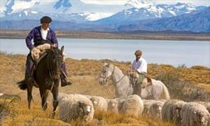 Gauchos in Patagonia, Argentina