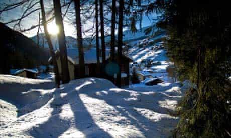 Campoluc ski resort in France