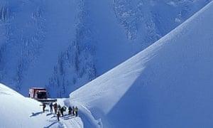 """A cat-skiing drop spot in the Rockies"""