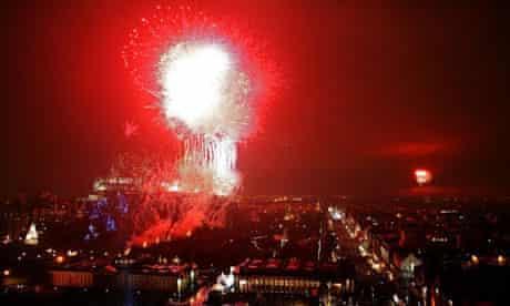 Edinburgh at New Year