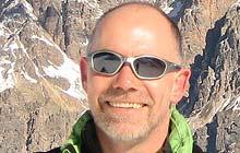 John Bennett, Cortina d'Ampezzo, Italy