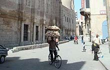 Bein al-Qasrain ('Between the Two Palaces street), the heart of Islamic Cairo, Egypt