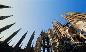 Sagrada Familia by Gaudi, Barcelona