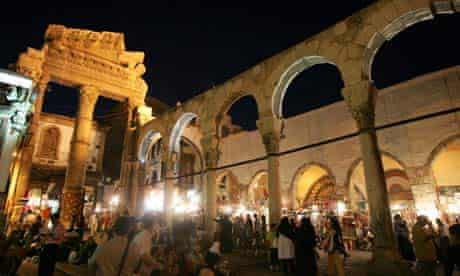Al-Hamidiyeh souq in Damascus, Syria