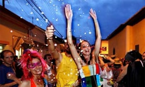 Partying in Sao Luis, Brazil