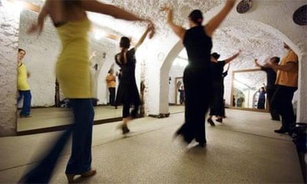 Flamenco class, Andalucia, Spain