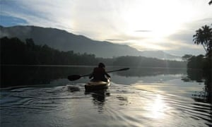 Kayaking in Kerala
