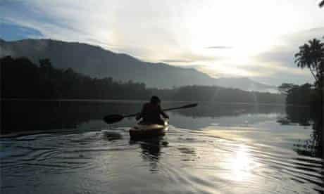 Kayaking in Kerala