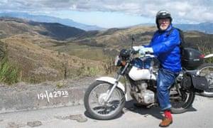 Simon Gandolfi on his motorbike tour of South and Central America