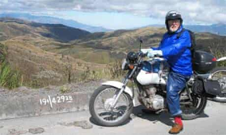 Simon Gandolfi on his motorbike tour of South and Central America