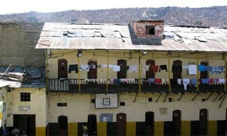 La Paz prison, Bolivia