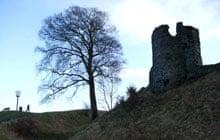 Kendal Castle, Cumbria, UK