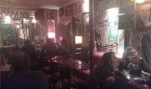 Bar of teh Hotel El Dorado, Paris