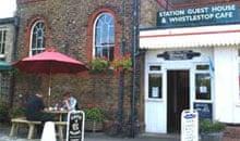 Whistlestop cafe, Woodbridge Station, Suffolk