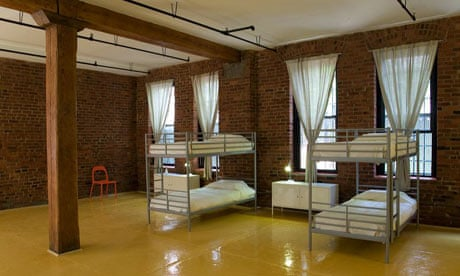 cheap places to stay in new york accommodation travel the guardian. Black Bedroom Furniture Sets. Home Design Ideas
