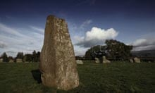 Long Meg and Her Daughters, Near Penrith, Cumbria,  England, UK