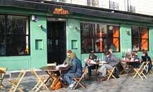 La Mer a Boire cafe, Paris, France