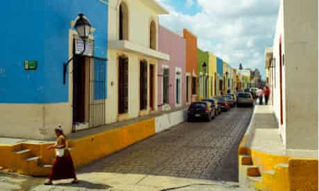 Old town, Campeche, Mexico