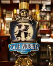 Collie Wobbles ale, Watermill, Cumbria